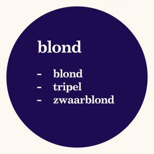 Blonde bieren